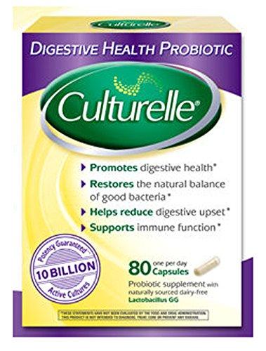 Culturelle de la santé digestive probiotiques, 80 capsules