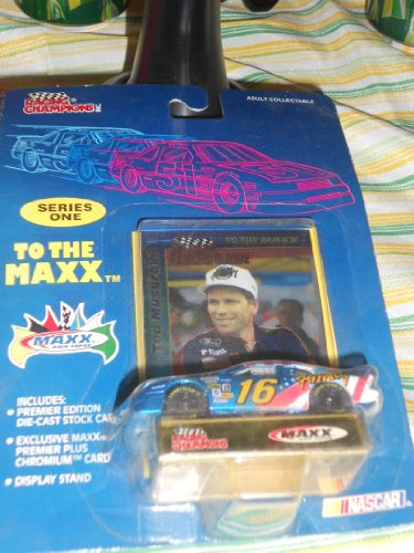 Maxx Nascar Racing - Nascar Racing Champions Series one To the Maxx # 16 Ted Musgrave 1:16 Car