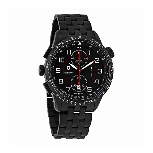 Victorinox Swiss Army Airboss Mach 9 Chronograph Automatic Mens Watch 241742 (Victorinox Watch Men Mach)