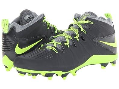 Nike Men's Huarache 4 Lax Anthracite/Volt/Stealth 14 D - Medium