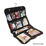 #3: Hanging Cosmetic, Toiletry, Travel Organizer, 10 Pocket Packing Storage Bag