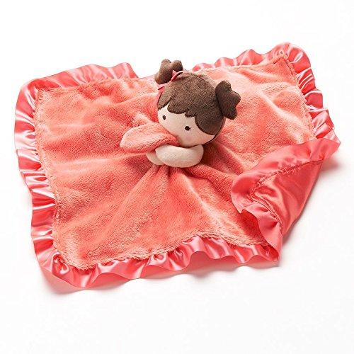 Carter's Cuddle Plush Blanket Doll, Dk Pink