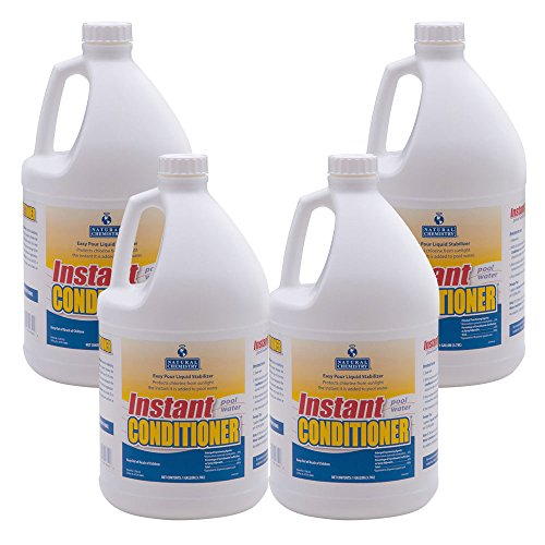 Natural Chemistry 07401 Instant Pool Water Conditioner, 1-Gallon, 4-Pack (Swimming Pool Water Chemistry)