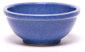 Ceramic Chili Bowl, American Blue: Made in the USA and Lead-Free | Emerson Creek Pottery