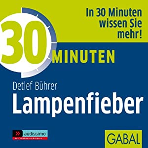 30 Minuten Lampenfieber Audiobook