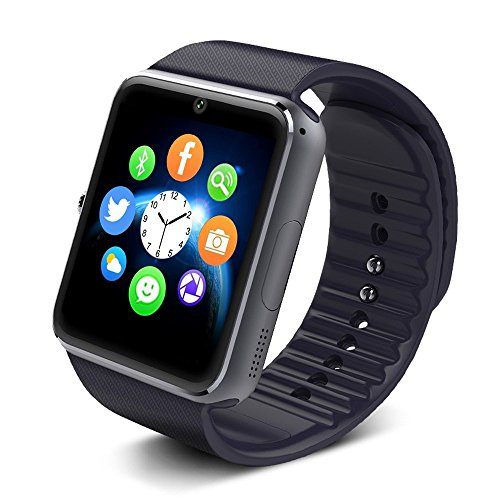 Yarrashop Bluetooth Smart Watch with SIM Card Slot and NF...