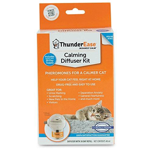 ThunderEase Cat Calming Pheromone Diffuser Kit - Reduce