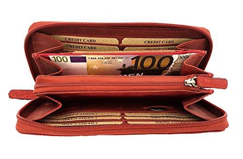8666 Jockey Club rosso Portamonete Kirschrot xxaqIZ