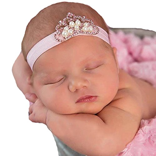 Miugle Baby Girl Headbands with Rhinestone -