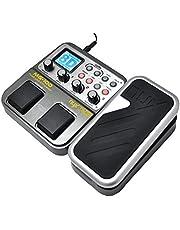NUX MG-100 Procesador de guitarra, pedal de efecto de guitarra, grabador de tambor 58 efecto 72 predefinido, multifunción.