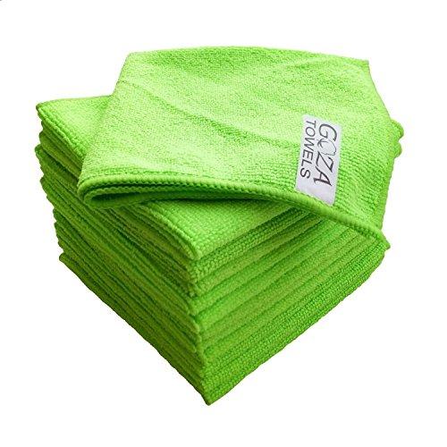 - Goza Towels Microfiber Towel Cleaning Cloths Professional Grade All-Purpose 12