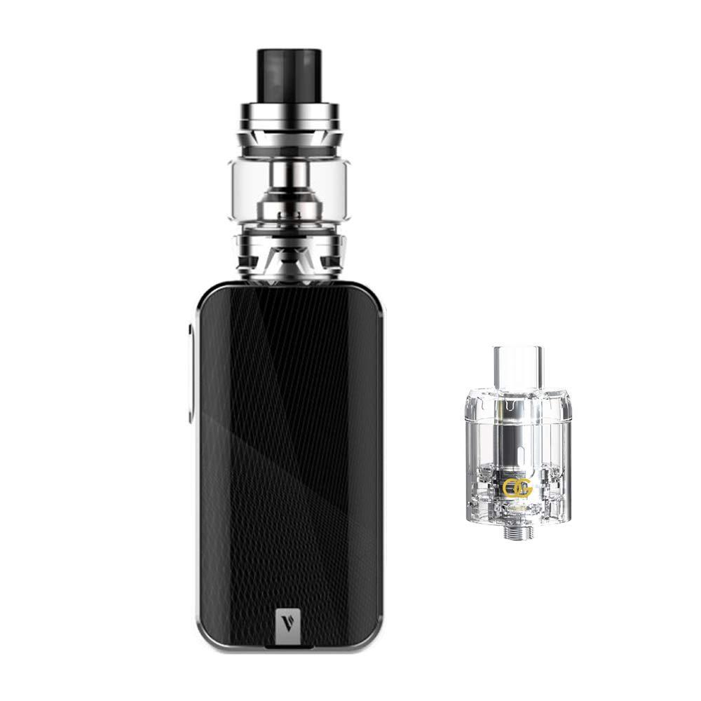 Auténtico Vaporesso Luxe Kit ,Cigarrillo Electrónico Vaping Kit 220W Box Mod Atomizador SKRR 8ml Tank E-Cig Vapor - Sin Nicotina y Sin E-líquido (Silver): ...