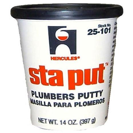 Oatey 25103 Hercules Sta Put 3-Pound Plumbers Putty