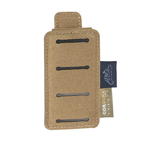 Molle System Adapter - Helikon-Tex Belt Molle Adapter, 1 Row, Coyote Brown, Versatile Insert System