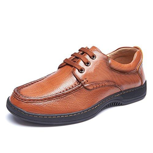 XIE ZI Scarpe di Cuoio Scarpe da Uomo Nuovo Autunno Low Wear Scarpe Comode Scarpe Casual da Uomo XXPP