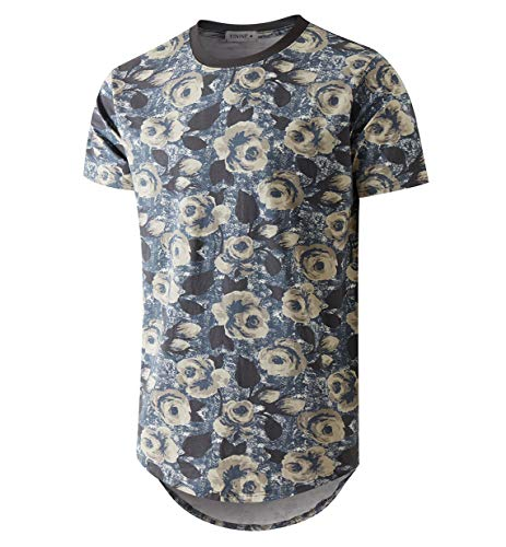YININF Mens Hipster Hip-Hop Premiun Tees - Stylish Fashion Print T-Shirts