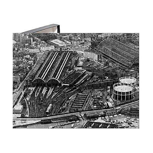 Media Storehouse 252 Piece Puzzle of Aerial View of Kings Cross Railway Station in London (15126123)