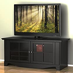 Pinnacle 56-inch TV Stand 100606 from Nexera - Black