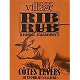Gourmet du Village Seas Recipe Box Rib Rub, 31 Gram