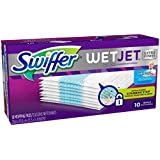 Swiffer WetJet Hardwood Floor Cleaner Spray Mop Pad Refill,  Extra Power, 10 Count