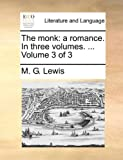 The Monk, M. G. Lewis, 1140895834