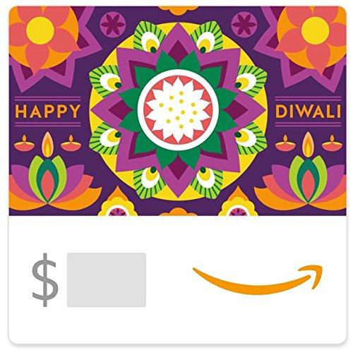 Amazon eGift Card - Diwali Dark Rangoli