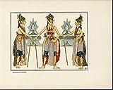Beksan Dancers Ornate Costume lovely c. 1912 Java