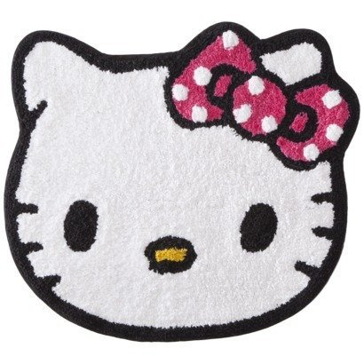Amazon Com Hello Kitty Bath Rug Home Kitchen
