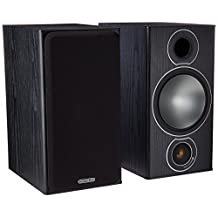 Monitor Audio Bronze 2 Bookshelf Speakers - Black Oak (Pair)