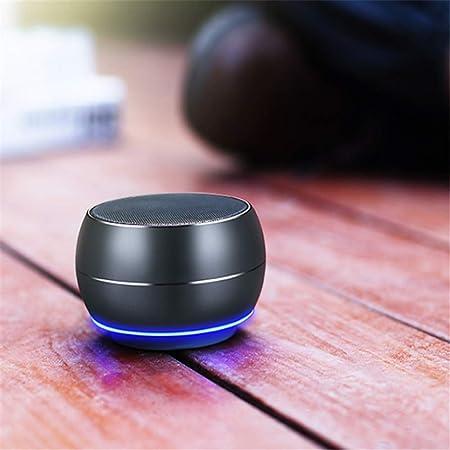 HYUYY Altavoz Bluetooth Inalámbrico Mini Altavoz Tarjeta ...