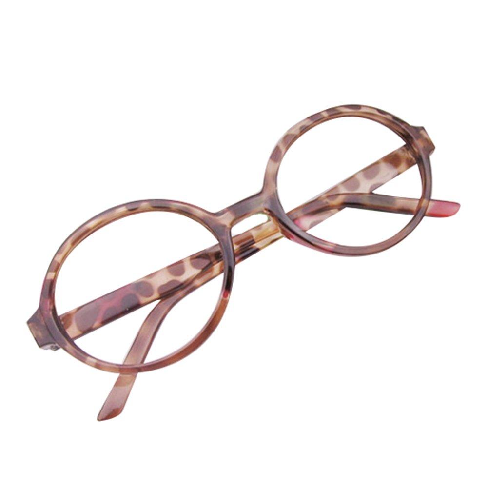 Mädchen Junge Brillen - Rund Stil Brille Kunststoff Brillenfassung ...