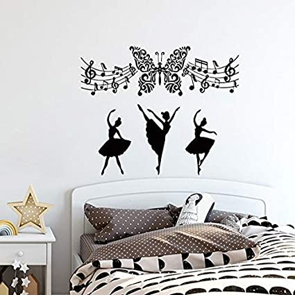 Amazoncom Banytree Vinyl Wall Sticker Decal Music Wall Decals