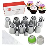 Best Decoration Tips - Russian Piping Tips Set - 28 Pieces Cake Review