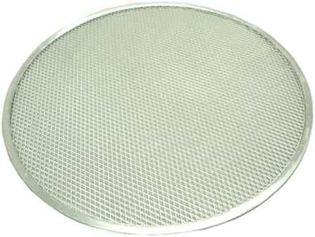 Winco APZS-16 Winware 16-Inch Seamless Aluminum Pizza Screen, 16 Inch,
