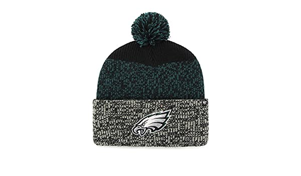 Amazon.com    47 Philadelphia Eagles Beanie Static Cuff Knit Hat   Sports    Outdoors d21bbc8e5