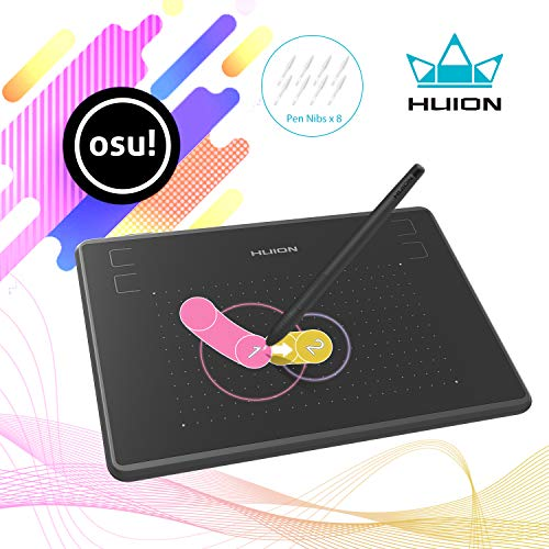 Huion Inspiroy H640p Graphics Drawing Tablet With Battery Free