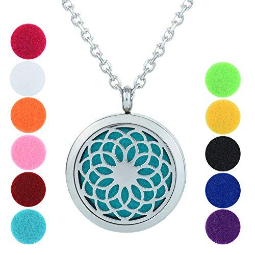 Mini Locket Necklace - 9