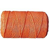 Hilo pastor naranja 3 hilos 0,15 MM inox