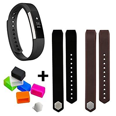 Fitbit Alta Replacement Bands, LauKingdom Fitbit Alta Accessories for Fitbit Alta. Large & Small with Free Fasteners