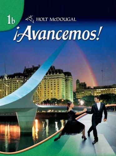 Avancemos, Level 1B, Student Edition pdf
