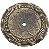Amerock 1356AB 2 Allison Backplate Antique Brass Finish