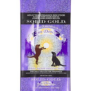 SOLID GOLD 937185 Sun Dancer Chicken Based Grain and Gluten Free Food for Adult Dogs, 15-Pound