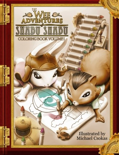 Download The Wee Adventures of Shabu Shabu - Coloring Book Volume 1 pdf