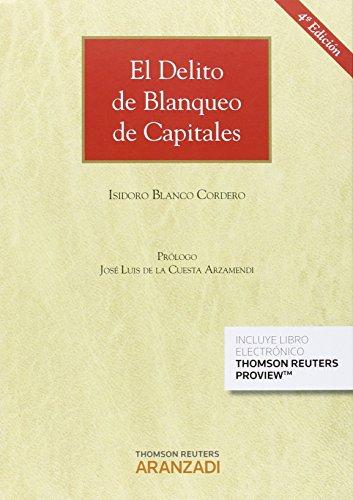 Descargar Libro Delito De Blanqueo De Capitales Isidoro Blanco Cordero