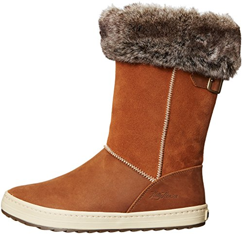 Helly Hansen Womens/Ladies Alexandra 2 Waterproof Leather Snow Boots Whiskey / Natura / Camel / Sperry Gum