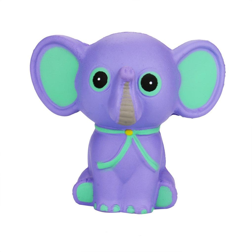 TrimakeShop Squeeze Elephant Cream Bread Scented Slow Rising Toys Phone Charm Gifts