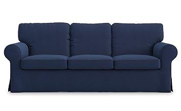Amazon.com: TLYESD Ektorp - Funda para sofá de 3 plazas ...