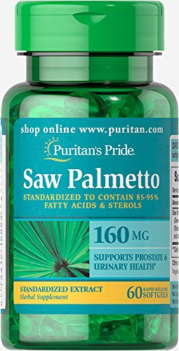 Puritans Pride Palmetto Standardized Softgels product image