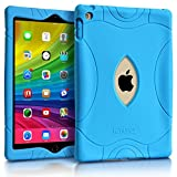 iPad Air 2 9.7 Case, Armera Heavy Duty Extra Corner Shockproof Silicone Protection Anti Slip Kids Safe Case Cover For Apple iPad Air 2 (A1566 A1567) (Blue)