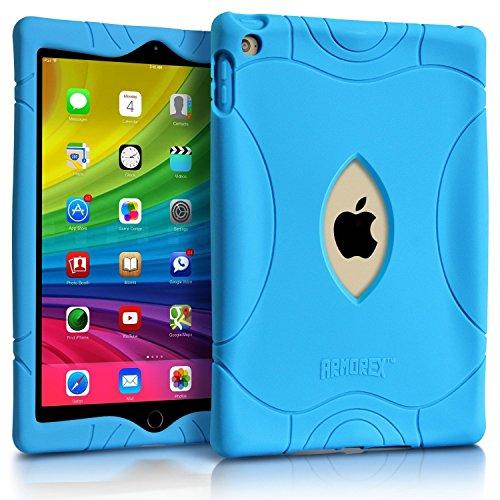 iPad Mini 2 3 Case, Armera Heavy Duty Extra Corner Shockproof Silicone Protection Anti Slip Kids Safe Case Cover For Apple iPad Mini